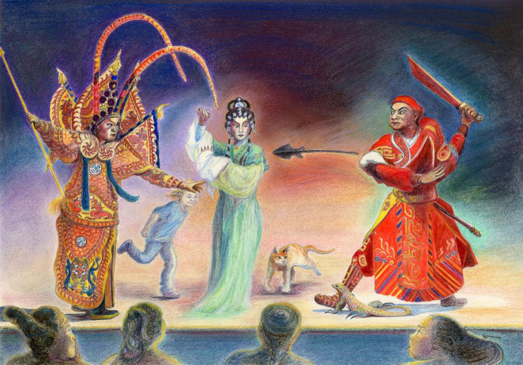 Opera, The Boatman's Knot, Rowena Riley
