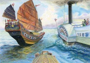 Riverbird, The Boatman's Knot, Rowena Riley