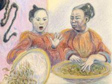Tea sorters, The Boatman's Knot, Rowena Riley