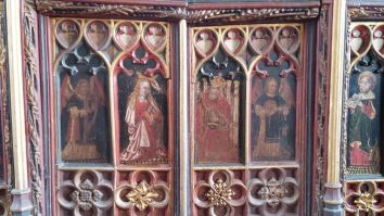 Torbryan Coronation of the Virgin 1470s The CCT