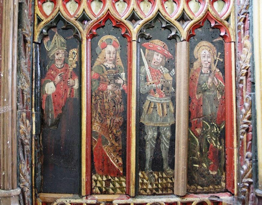 Torbryan right St. Vincent & St Margaret of Antioch