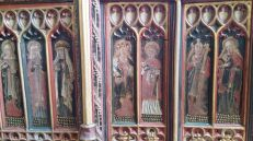 Torbryan, row of holy girls. The CCT.